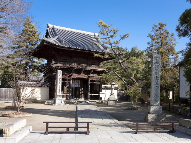 加古川鶴林寺写真 加古川市 国宝を有する鶴林寺を中心とした周辺を、加古川市景観まちづくり条例に基